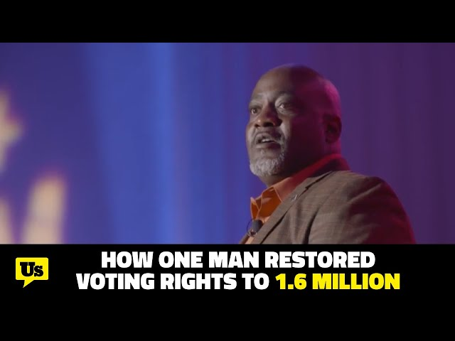 How one man restored voting rights to 1.6 million people