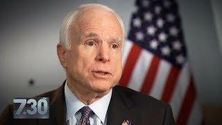 John McCain labels Vladimir Putin a bigger threat than Islamic State by : ABC News (Australia)