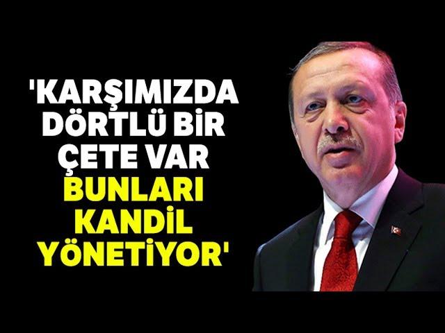 Cumhurbaşkanı Erdoğan: Ankara'yı Sahte Senet İmzalayanlara Teslim Edemeyiz