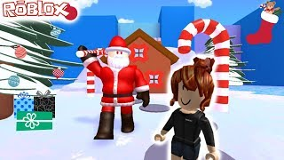 ROBLOX-SANTA CLAUS ESCAPE