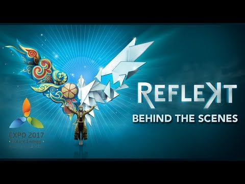 Magical Behind-the-Scenes Highlights of REFLEKT | 45 Degrees | Cirque du Soleil