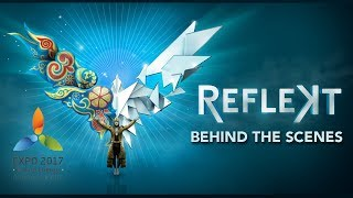 Magical Behind-the-Scenes Highlights of REFLEKT | 45 Degrees | Cirque du Soleil