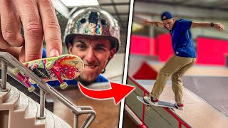ON REPRODUIT LES FIGURES QU'ON FAIT EN FINGER SKATE ! Ft @Joseph Garbaccio