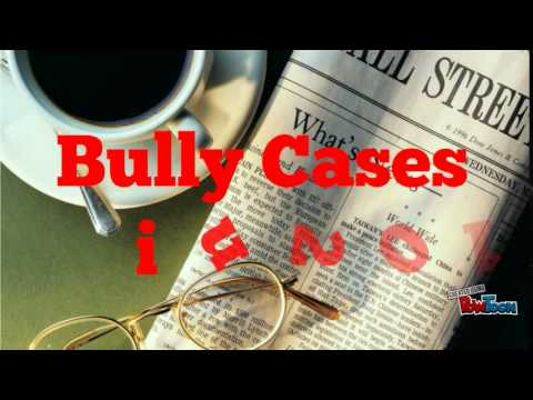 Newspaper Cuttings on Bully in Malaysia