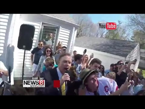 Quinnipiac University president's comments at party enrage neighbors