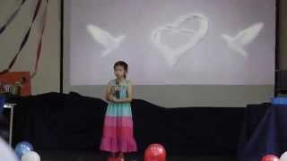 2014 NIS Talent Show - Cheryl Singing Unreserved L