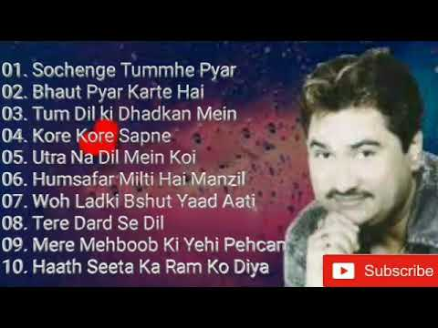 Best Of Kumar Sanukumar Sanu Hit Evergreen Hindi Songssochenge Tumhe Pyar