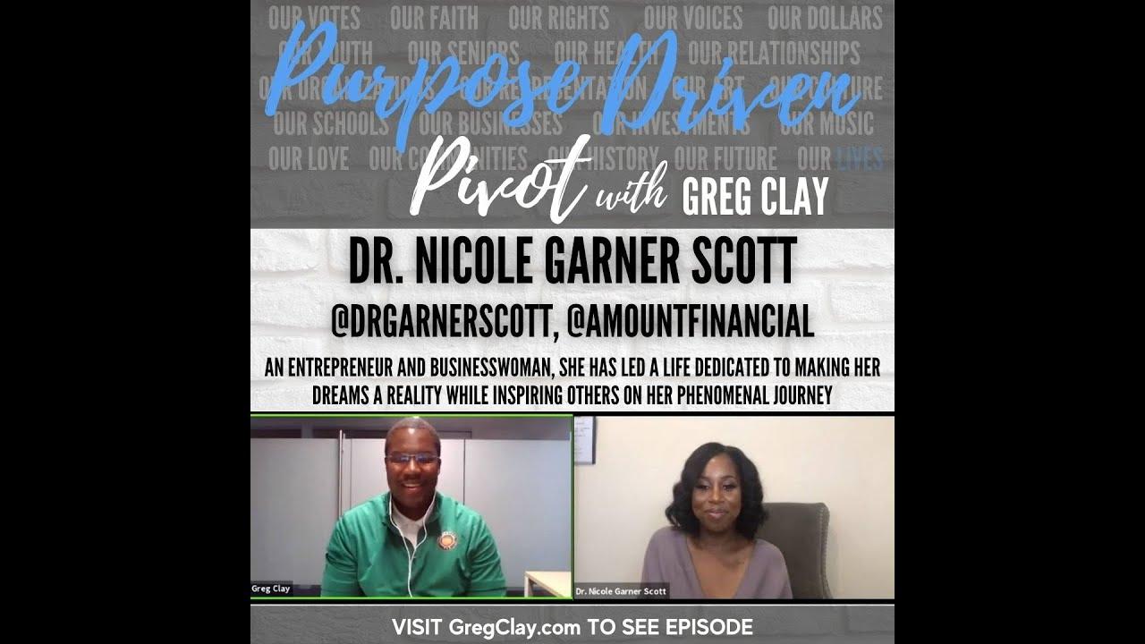 Purpose Driven Pivot , feat. Dr. Nicole Garner Scott