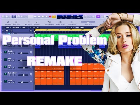 Iggy Azalea - Personal Problem Instrumental Remake (Production Tutorial) By MUSICHELP thumbnail