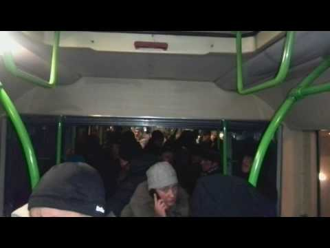 Давка в автобусе - 37-й маршрут, Москва