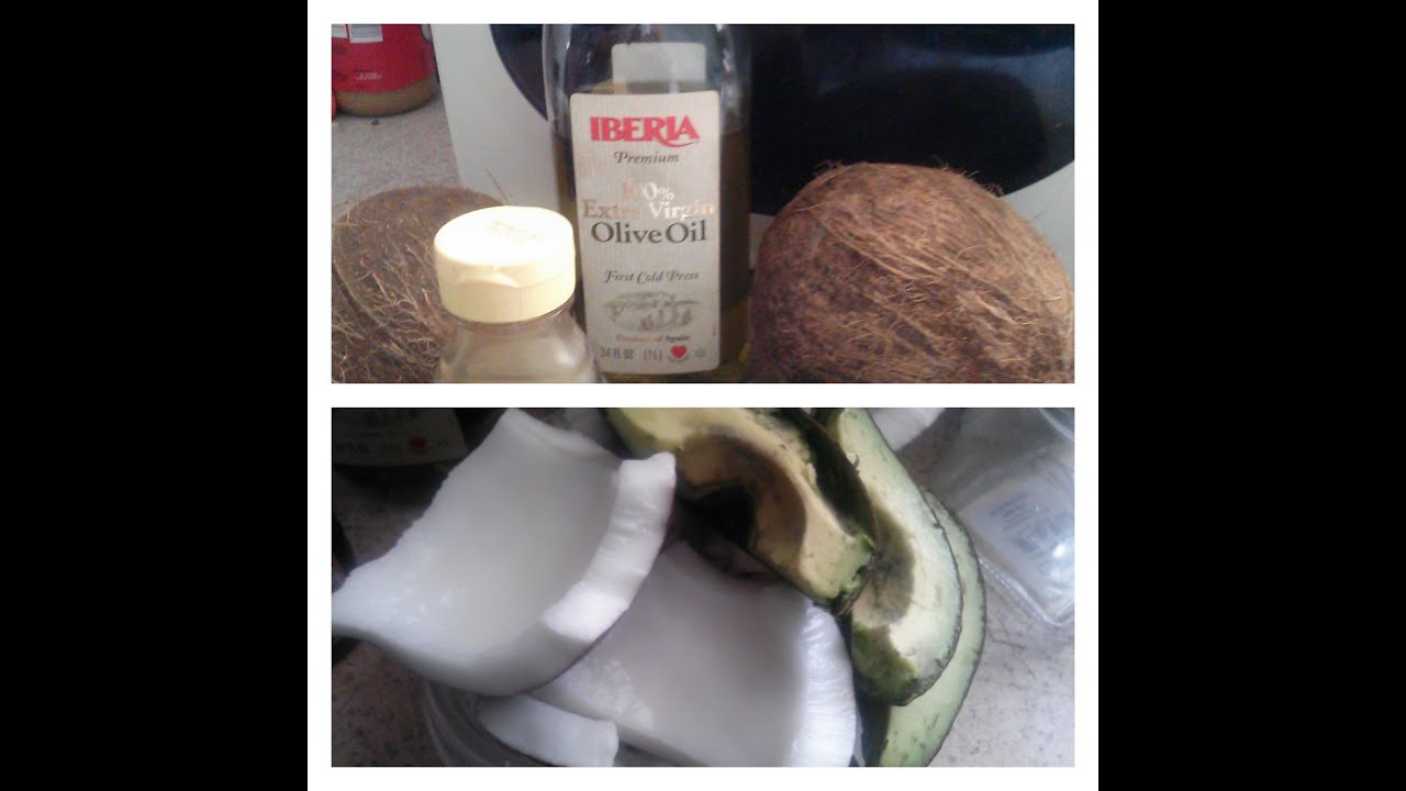 how to make coconut milk for hair