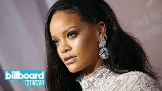Rihanna Launches Fenty Brand Pop-Up in Paris | Billboard News