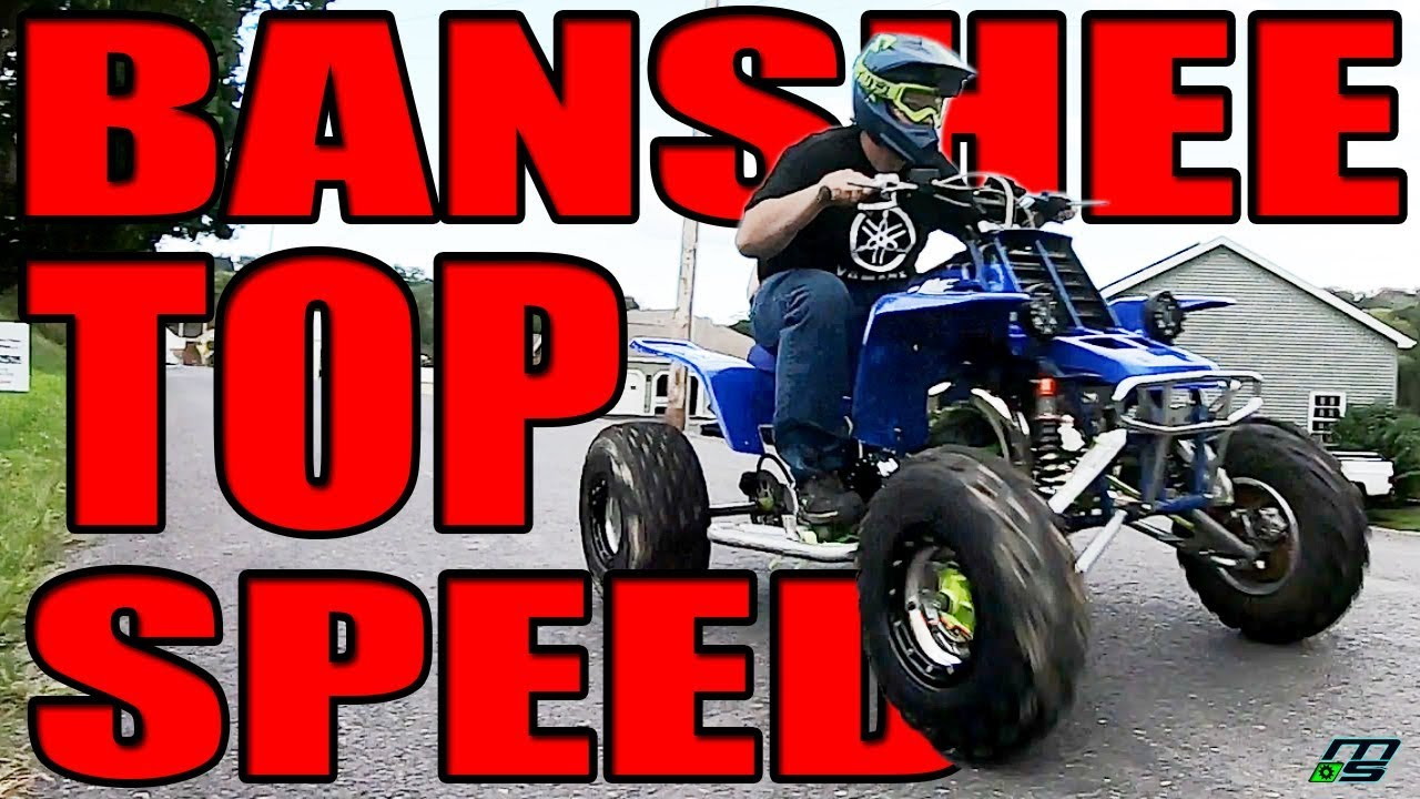 max speed on my 4mil banshee with gps proof nearly crushed my phone in the making youtube max speed on my 4mil banshee with gps proof nearly crushed my phone in the making
