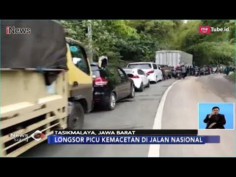 Longsor di Kabupaten Garut Sebabkan Kemacetan hingga 10 Km - iNews Siang 25/12