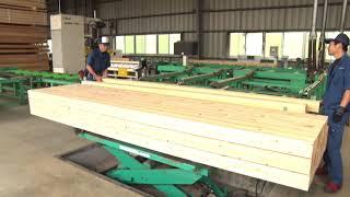 檜の柱ができるまでの過程
