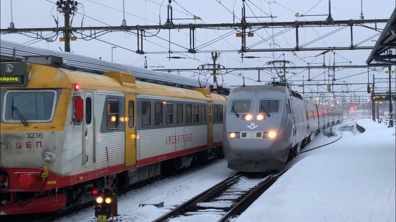 Tåg nässjö stockholm