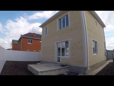 Двухэтажный монолитный дом 120 м2 в Краснодаре