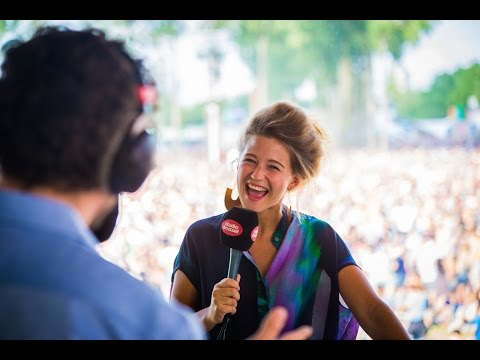 Interview Selah Sue (Rock Werchter 2015)