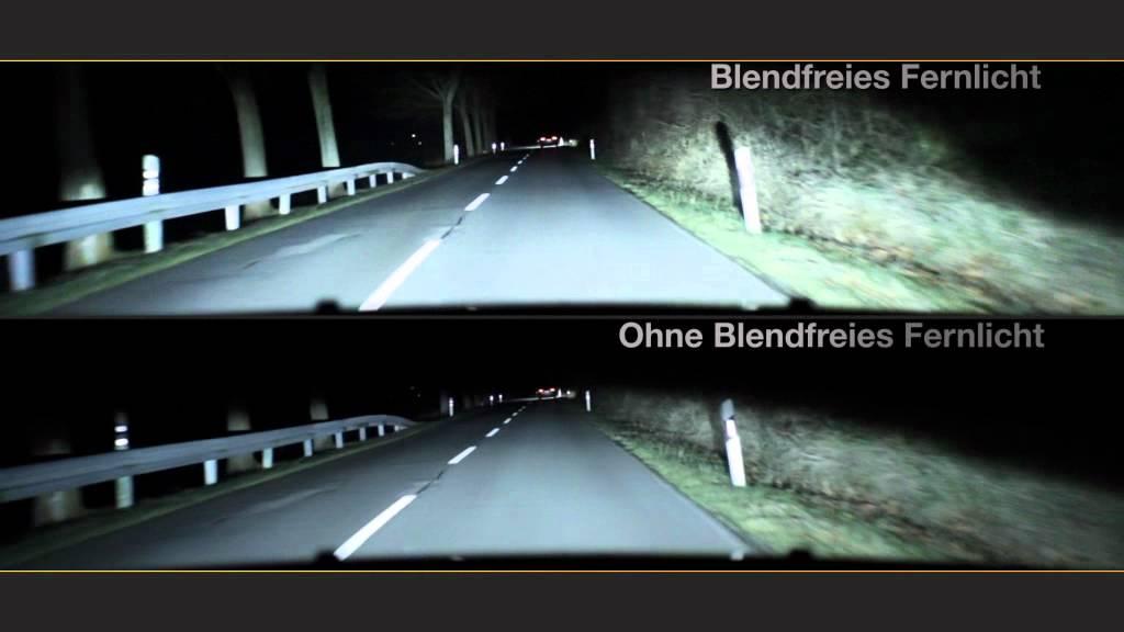 Blendfreies Fernlicht Fahren Mit Fernlicht Ohne Zu Blenden Youtube