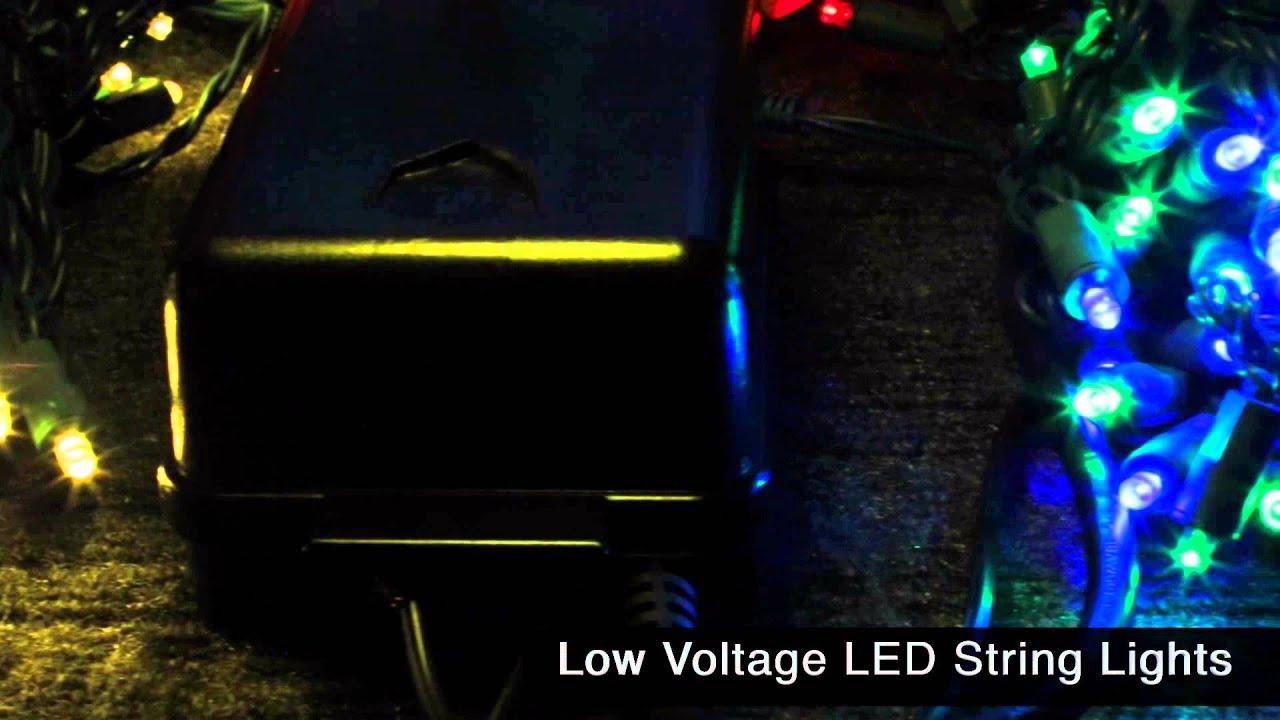 Elegant Low Voltage String Lights