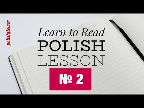 Reading Lesson 2 - Learn to Read Polish