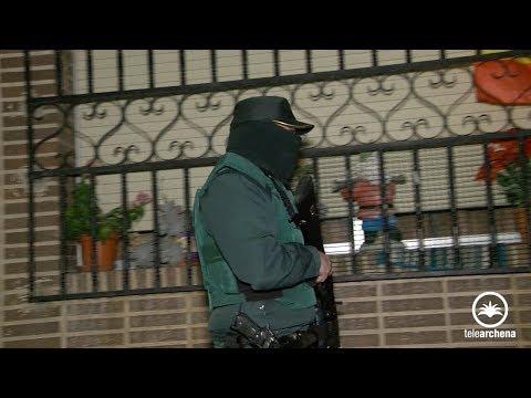 Redada policial contra la droga anoche en Archena con dos detenidos