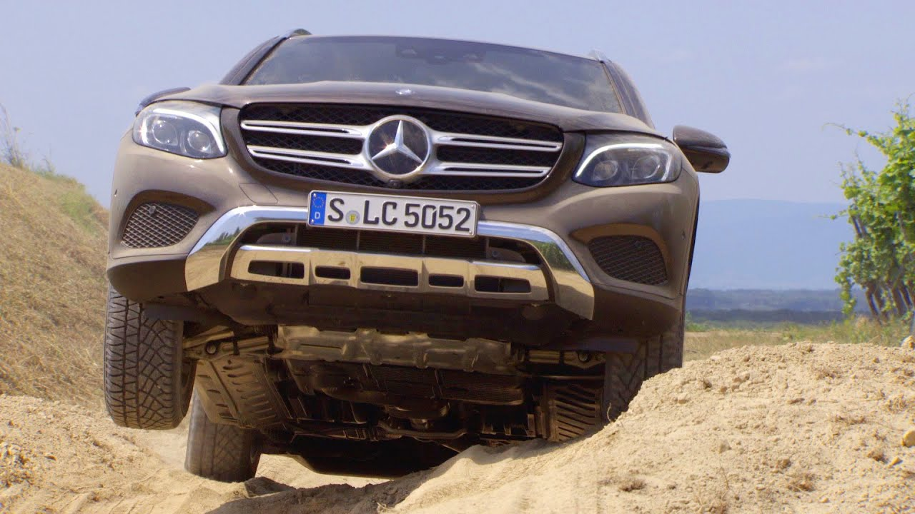 mercedes glc 2016 off road testing youtube