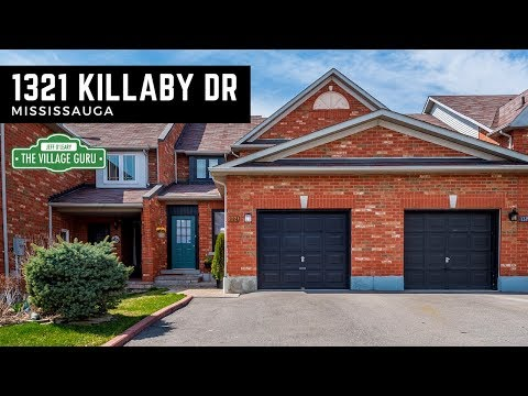 1321 Killaby Drive, Mississauga | Town House For Sale in East Credit | Mississauga Real Estate Agent