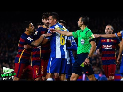 Barcelona Striker Luis Suarez Gets Two Match Ban After Espanyol Clash