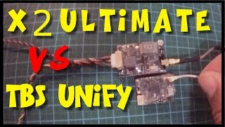AKK X2-Ultimate vs TBS Unify PRO V3 | Review and Video Signal Test comparison