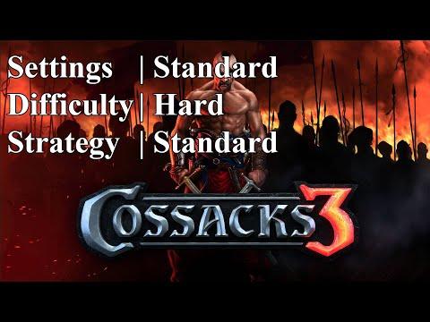 Cossacks 3 | Hard difficulty | Standard Strat |