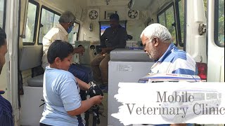 Free Service Mobile Veterinary Clinic From Telangana Government