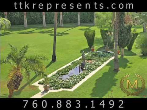 Palm Springs Estate California | Historic Estates Palm Springs CA