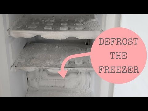 SPEED CLEAN || DEFROST & CLEAN THE FREEZER || CLEAN WITH ME