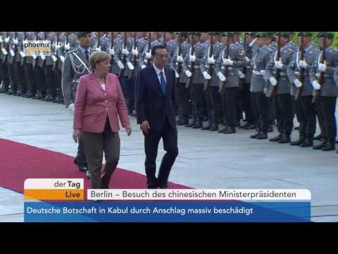 Treffen Merkel/Li Keqiang: Expertengespräch mit Enrico Fels am 31.05.17