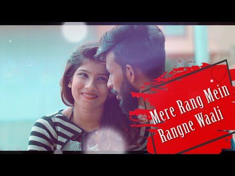 Mere Rang Mein Rangne Waali Sad Version  Lyrics Video  Present Love Zone Official