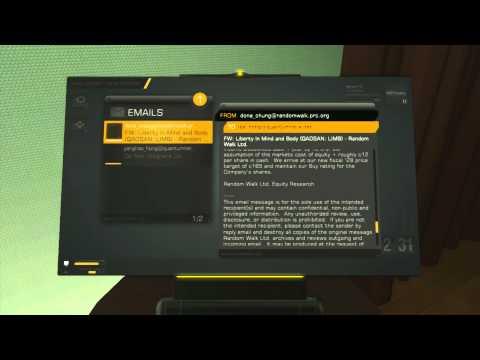 Deus Ex: Human Revolution DC - Shanghai Justice: Investigate Lee Hong's Apartment (Clock, Bat & PC)
