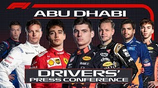 2019 Abu Dhabi Grand Prix: Press Conference Highlights