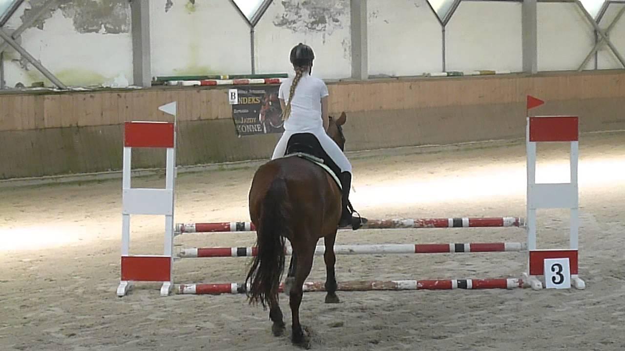 70a09bd0db7ec brązowa odznaka jeździecka-skoki przez przeszkody - YouTube