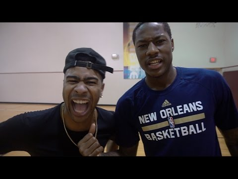 1 V 1 AGAINST NBA SUPERSTAR ARCHIE GOODWIN!! LOSER GETS PAINFUL PUNISHMENT!!!