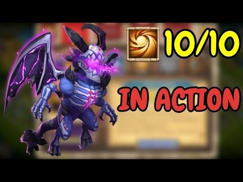 Skeletica L 10/10 Sacred Light In Action L Castle Clash