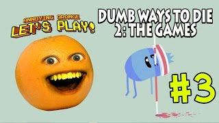 Annoying Orange Plays - Dumb Ways 2: THE GAMES #3