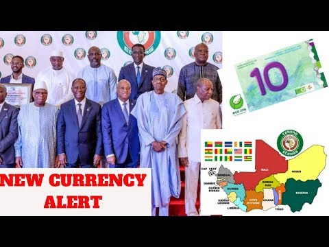 "Breaking News - West African States (ECOWAS) Adopt New Currency Called ""ECO"""