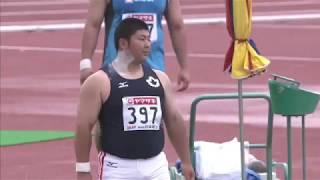 6 佐藤 征平 岩 手 国士舘大 16m67 男子 砲丸投 決勝 □競技時刻 : 2014/...