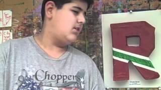 5th Grade Paper Mache Letters Thumbnail