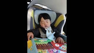 |조는아기|잠든아기|귀여운아기|아기카시트|아기산책|a …