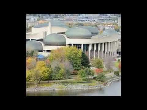 Canadian Museum of Civilization - Human and cultural history - Gatineau, Quebec, Canada