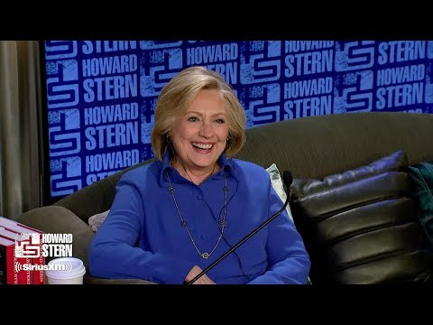 Hillary Clinton on the Howard Stern Show Pt. 1