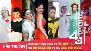 Đằng sau thành công MV Vẻ Đẹp 4.0 của Hồ Ngọc Hà và dàn sao BB Trần,Duy Khánh,Hải Triều,Minh Dự