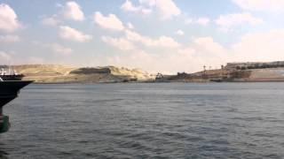 قناة السويس الجديدة :أستمرار أعمال الحفر ثانى أيام عيد الاضحى5أكتوبر 2014